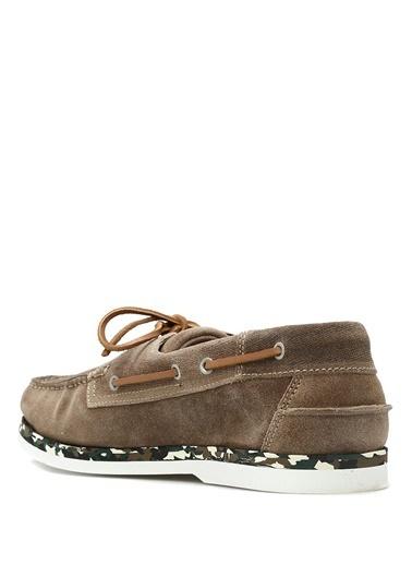 %100 Deri Bağcıklı Loafer Ayakkabı-Campobello Shoes